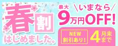 春割はじめました。最大9万円OFF!