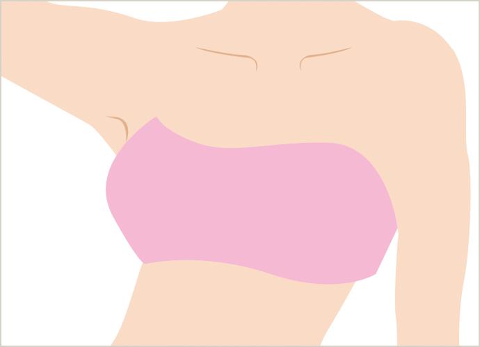 胸・乳輪周りの医療脱毛