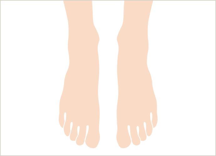 足の甲・指の医療脱毛