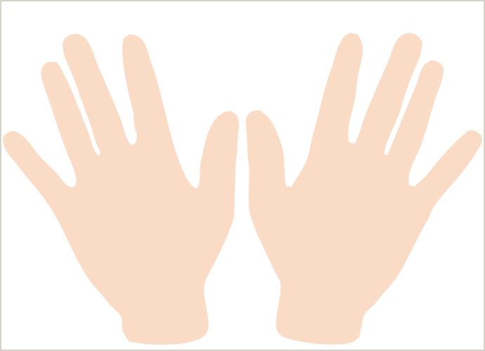 手の甲と指の医療脱毛